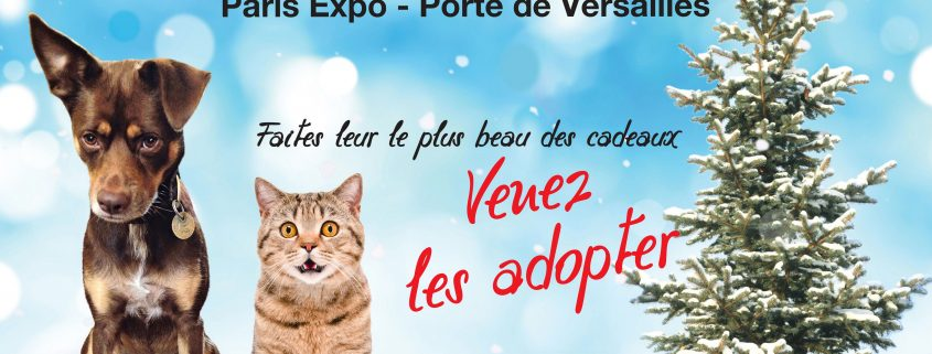 Adoption animaux Paris Porte de Versailles