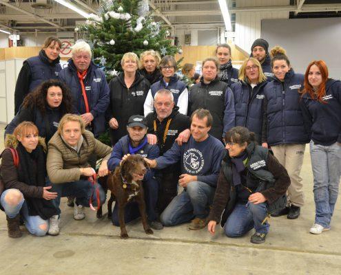 Bénévoles et soigneurs de la Fondation Assistance aux Animaux