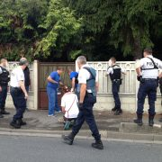 Intervention police Chelles